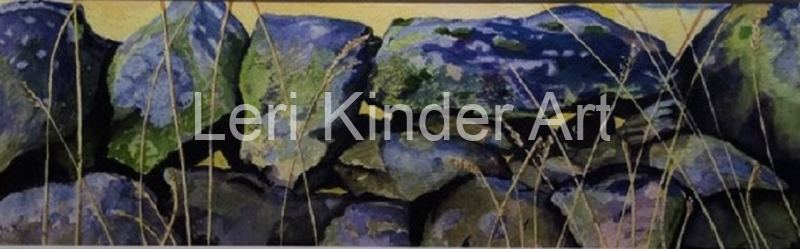 Stone wall at Cloud End, Bosley Staffordshire / Cheshire [SOLD]