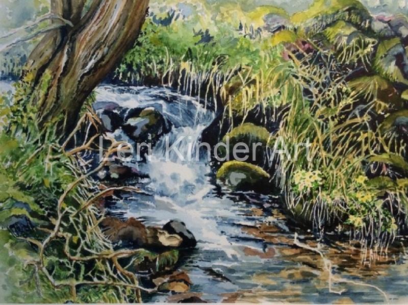 Derbyshire brook [SOLD]