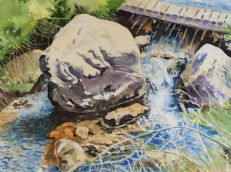 Boulders in the Brook